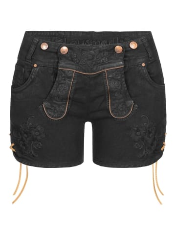 Hangowear Jeans-Lederhose in Schwarz