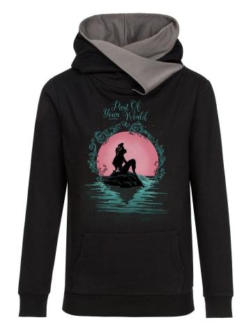 Disney The Little Mermaid Schalkragenpullover Part Or Your World in schwarz/grau