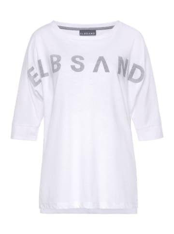 ELBSAND Tshirt Iduna in Weiß