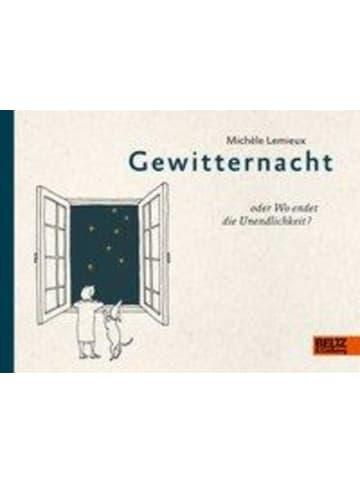Beltz Verlag Gewitternacht oder Wo endet die Unendlichkeit? | Steifbroschur mit offenen...