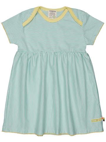 Loud + proud Kleid Streifen in Mint