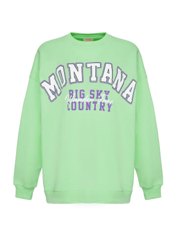 Grimelange Sweatshirt Ramona in green
