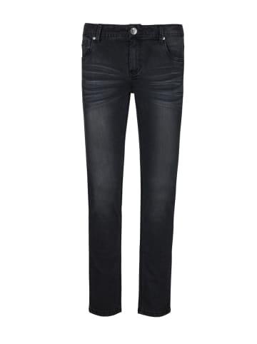 Streetkids Jungen Skinny Leg extra wide in black