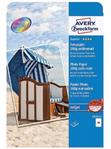 AVERY ZWECKFORM Fotopapier 1040-30 A4 30Bl
