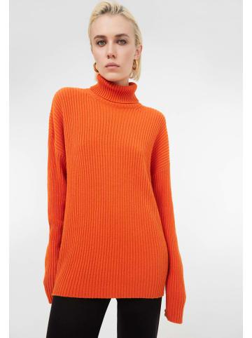 TOPTOP STUDIO Pullover Pullover in orange