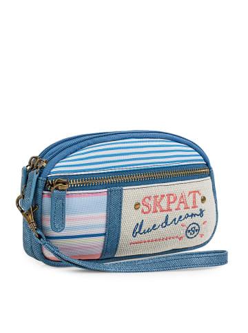 "SKPAT  Geldbörse ""Sainte Claire"" in Blau"