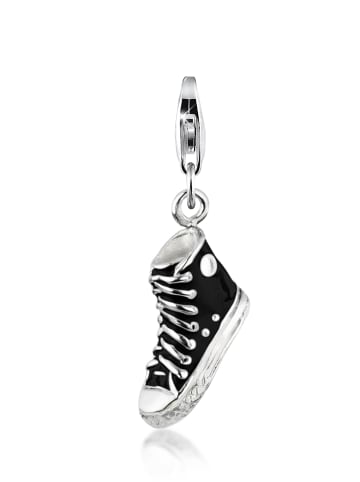 Nenalina Charm 925 Sterling Silber Schuh in Silber