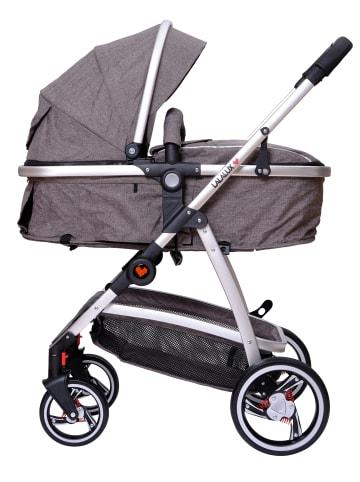 "Lalalux Kinderwagen "" Babyboomer "" in dunkelgrau"