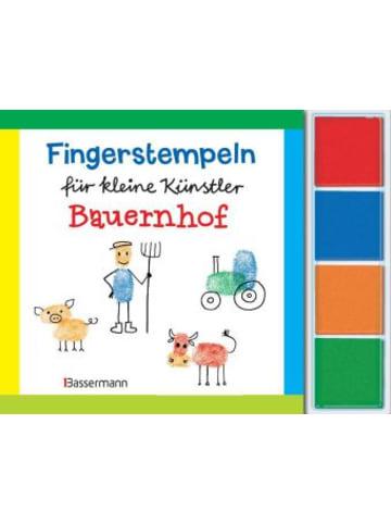 Bassermann Verlag Fingerstempeln für kleine Künstler - Bauernhof