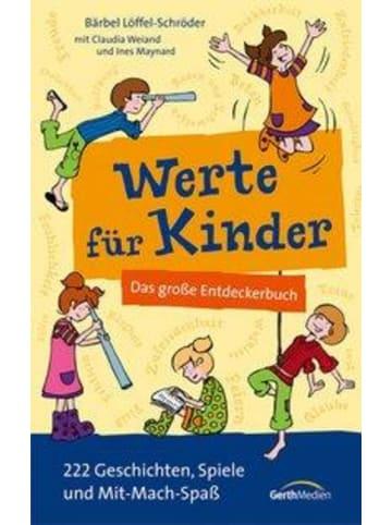 Gerth Medien Werte für Kinder   Das große Entdeckerbuch. 222 Geschichten, Spiele und...