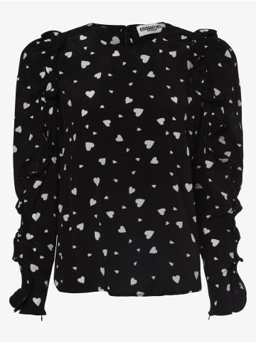 Essentiel Antwerp Bluse in schwarz weiß