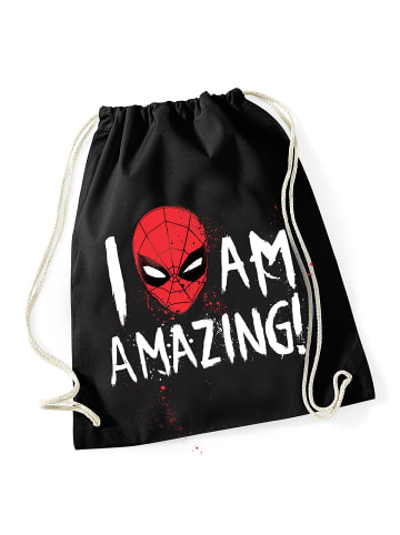 MARVEL Spider-Man Turnbeutel Amazing Bag in schwarz