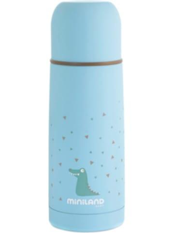 Miniland Thermoflasche Silky Thermo, 350 ml, blau