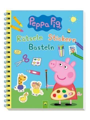 Schwager & Steinlein Peppa Pig Rätseln Stickern Basteln