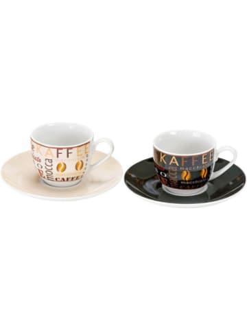 """Flirt 2-tlg. Set Espresso Tassen """"Havanna"""" im Geschenkkarton"""
