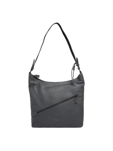 VLD VOi Leather Design 4Seasons Oleandra Schultertasche Leder 34 cm in anthrazit