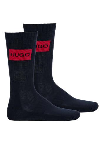 HUGO Socken 2er Pack in Blau