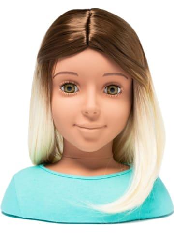 I'm a Girly I'm a Stylist - Perücke braun/blond für 33 cm Styling Heads