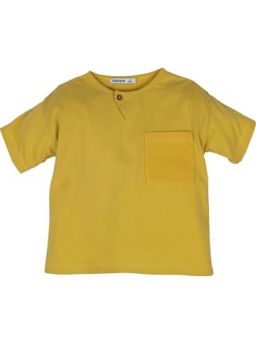 Mamino Kindermode Jungen T-Shirt in senf