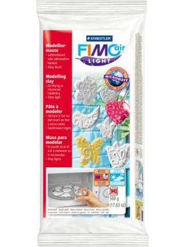 FIMO air light Lufttrocknende Modelliermasse weiß, 500 g