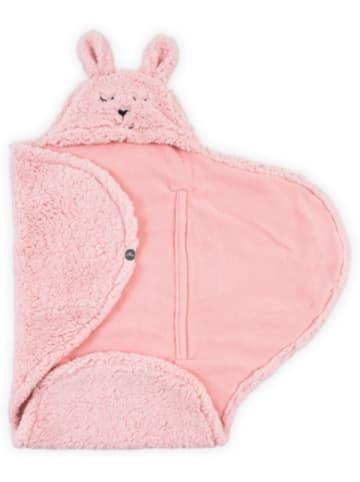 Jollein Einschlagdecke Bunny, pink