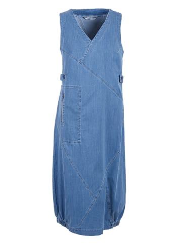 HELMIDGE Sommerkleid Sommerkleid in blau