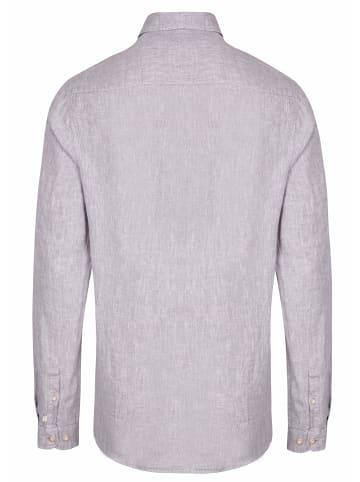 HATICO Langarm Freizeithemd in grau