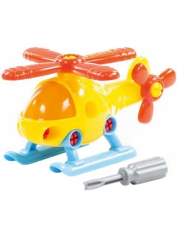 """POLESIE Konstruktionsfahrzeug """"Bau dir deinen Hubschrauber"""", 16-tlg."""