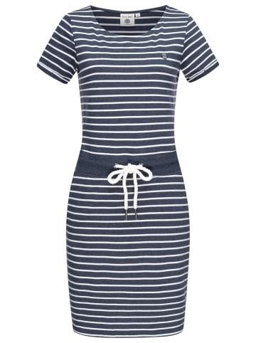 PEAK TIME  Sommerkleid L80023 in Blue Melange Stripes