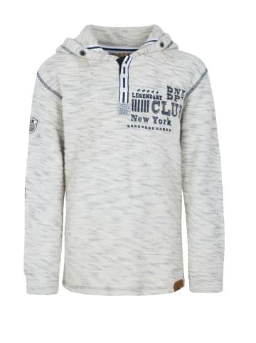 Streetkids Jungen Sweat mit Kapuze in dark gray