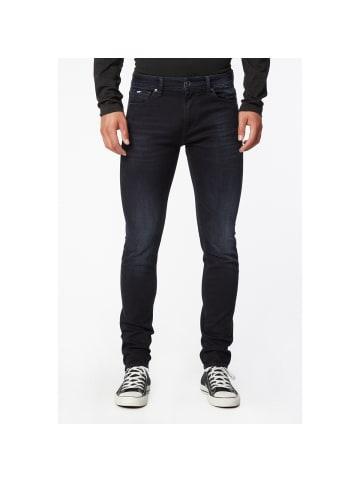 GAS Jeans Stretch-Jeans SAX ZIP in blue / black