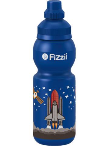 Fizzii Trinkflasche Weltraum, 330 ml