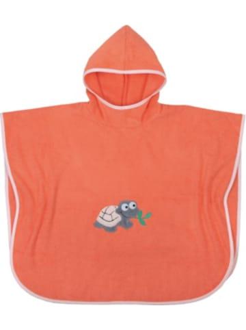 Boofle Badeponcho Schildkröte, apricot, 75x120 cm