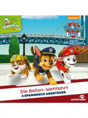 Universum CD Paw Patrol 3 - Die Ballon-Wettfahrt