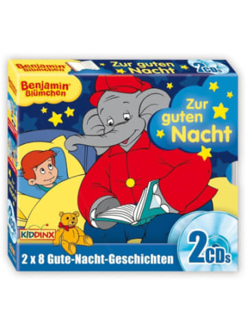 KIDDINX CD Benjamin Blümchen Gute Nacht Geschichten Box (Folge 8 + 14)