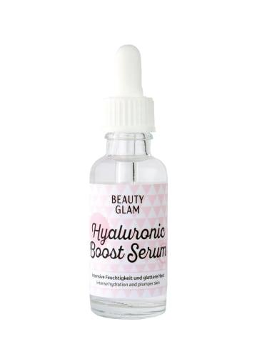 BEAUTY GLAM Gesichtsserum Beauty Glam Hyaluronic Boost Serum in transparent