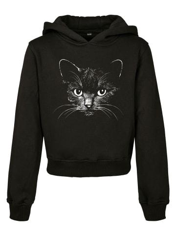 Mister Tee Kapuzensweatshirt   Black Cat Cropped in Black