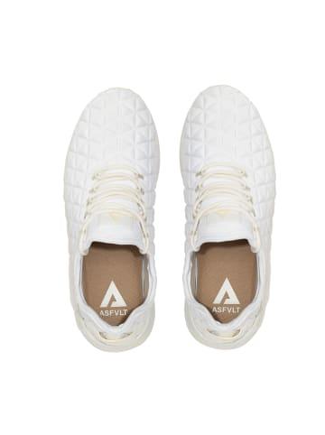 ASFVLT Sneaker SPEED SOCKS SS107 in white tan