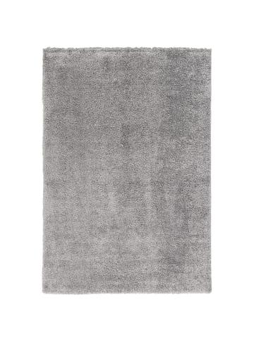 Pergamon Hochflor Langflor Teppich Aloha in Grau