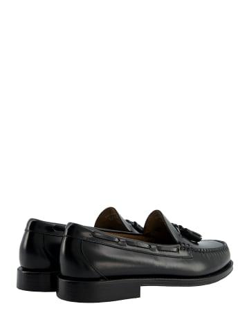 G.H. Bass & Co. Loafer Weejuns Larkin Moc Tassel in Black Leather