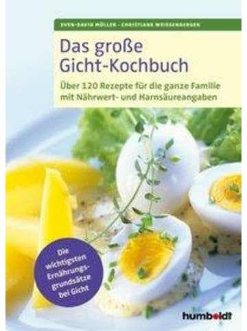 Humboldt Hannover Das große Gicht-Kochbuch | Über 120 Rezepte für die ganze Familie mit...
