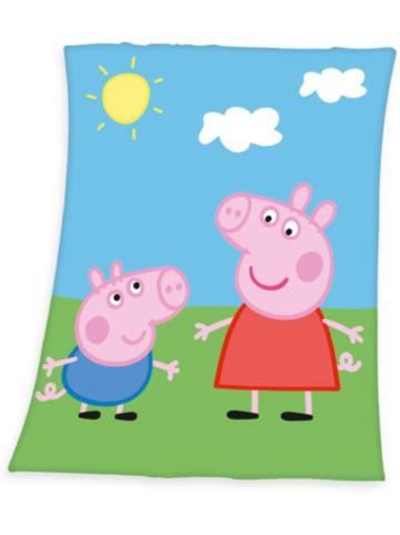 Herding Fleece-Decke Peppa Pig, 130x160 cm