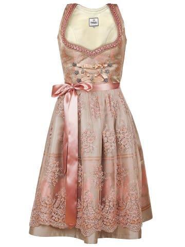Edelnice Midi Dirndl 2-teilig Rosalie in rosa