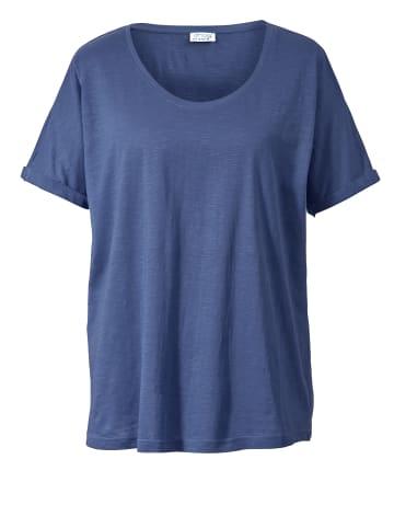 Angel of Style by HAPPYsize Shirt in Blau
