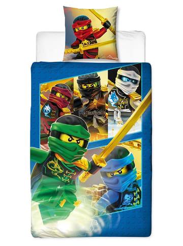 "Character World Jungen Bettwäsche-Set ""Lego Ninjago - Team Ready"" in Bunt"