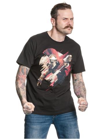 Ubisoft T-Shirt Assassins Creed Alexios in schwarz
