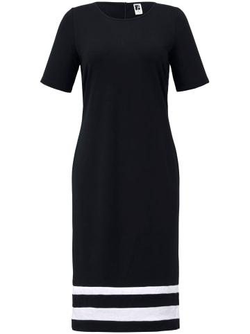ANNA AURA Jersey-Kleid mit 1/2-Arm in schwarz/ec