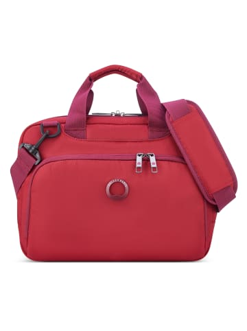 Delsey Esplanade Lady Aktentasche 35 cm Laptopfach in rot
