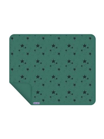 Dooky Baby Decke / einlagig / Grüne Sterne in grün
