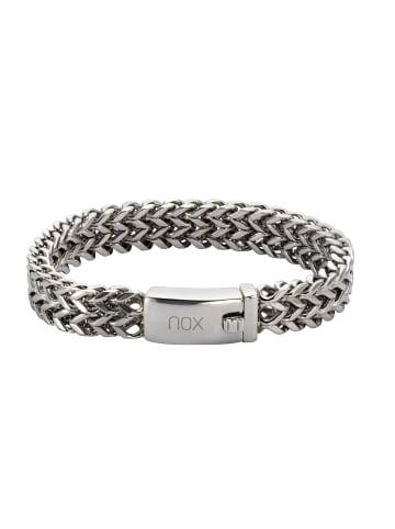 NOX Armbänder Edelstahl in Silbergrau
